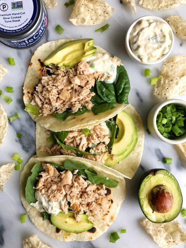 Easy Canned Tuna Tacos